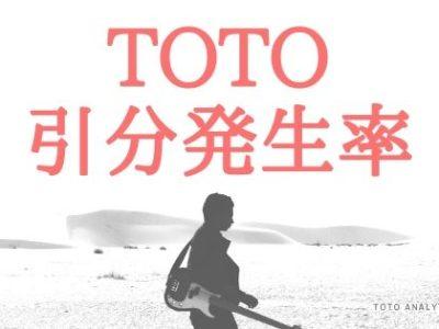 Toto引分発生率